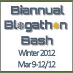 Biannual Blogathon Bash Kick Off (A Day Late!)