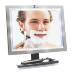 ToiletTree Deluxe LED Fogless Shower Mirror
