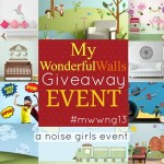 My Wonderful Walls Giveaway Event #MWWNG13 (US/CAN/Puerto Rico)