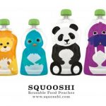 Squooshi the Reusable Food Pouches