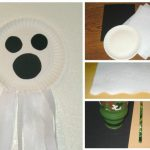 Paper Plate Ghost {Halloween Craft}