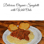 Delicious Organic Spaghetti with Wild Oats