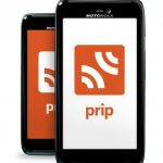 Touch to Talk with the Prip App