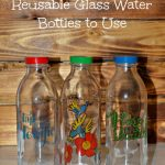 Putting Faucet Face Reusable Glass Water Bottles to Use {+ Giveaway}