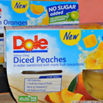 A Sweet Treat Without All The Sugar with DOLE No Sugar Added Fruit Bowls {Giveaway}