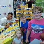 Our Meet and Greet with Tyrann Mathieu {plus Giveaway}