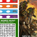 Teenage Mutant Ninja Turtles: Out of the Shadows {with Printables!}