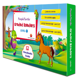 Purple Turtle Graded Readers Boxed Sets (Level 1) {Book Review}