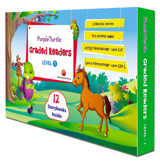 Purple Turtle Graded Readers Boxed Sets (Levels 1, 2 and 3) {Book Review}
