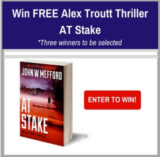 Win FREE Alex Troutt Thriller AT Stake