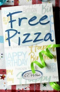 Free Pizza by G.C. McRae {Young Adult Book Review}