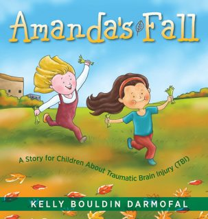 Amanda's Fall: A Story for Children About Traumatic Brain Injury (TBI) by Kelly Bouldin Darmofal {Children's Book Review}